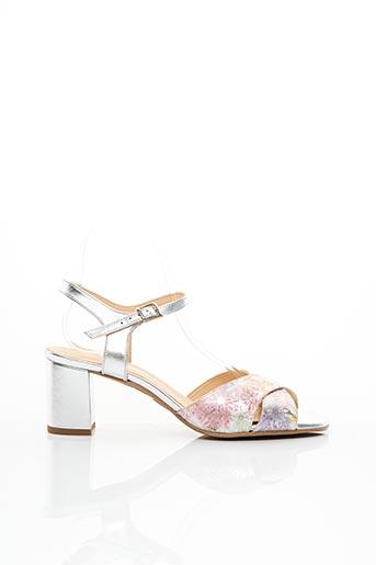 Sandales/Nu pieds rose EMANUELLE CÔME pour femme