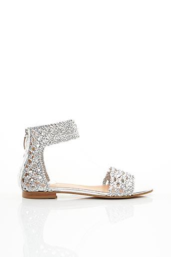 Sandales/Nu pieds gris TWINSET pour femme