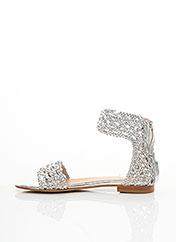 Sandales/Nu pieds gris TWINSET pour femme seconde vue