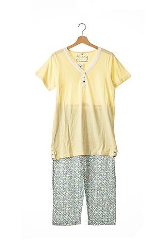 Pyjama jaune CHRISTIAN CANE pour femme