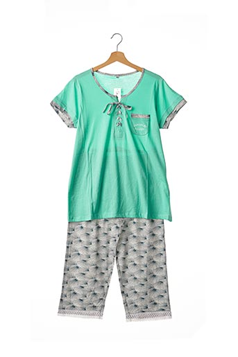 Pyjama vert CHRISTIAN CANE pour femme