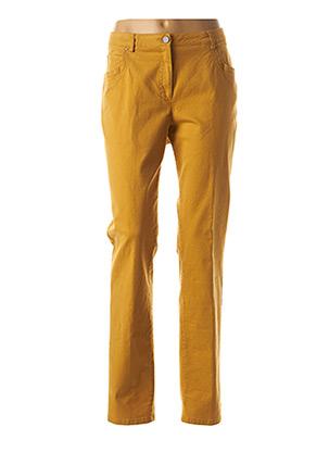 Pantalon casual jaune PAUPORTÉ pour femme