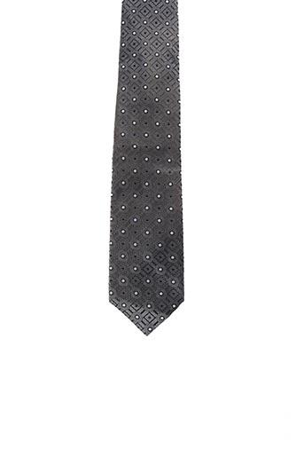 Cravate gris OLYMP pour homme