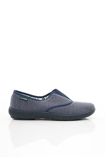 Chaussons/Pantoufles bleu LA VAGUE pour homme