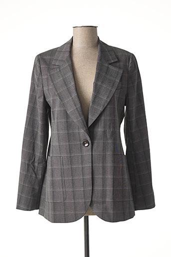 Veste chic / Blazer gris ESSENTIEL ANTWERP pour femme