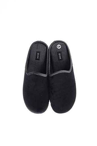 Chaussons/Pantoufles noir DIM pour homme