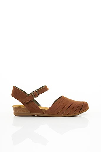 Sandales/Nu pieds marron EL NATURALISTA pour femme