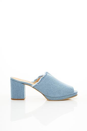 Mules/Sabots bleu SHOE THE BEAR pour femme