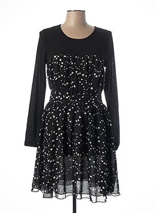Robe mi-longue noir MOLLY BRACKEN pour femme