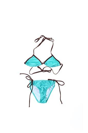 Maillot de bain 2 pièces bleu LITTLE MARCEL pour femme