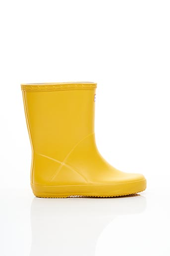 Bottes jaune HUNTER pour enfant