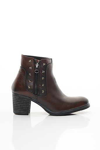 Bottines/Boots marron BKR pour femme