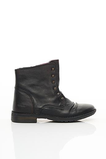 Bottines/Boots marron KICKERS pour fille