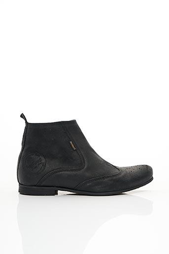 Bottines/Boots noir KICKERS pour homme