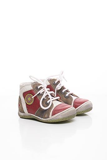 Baskets rouge GBB pour garçon