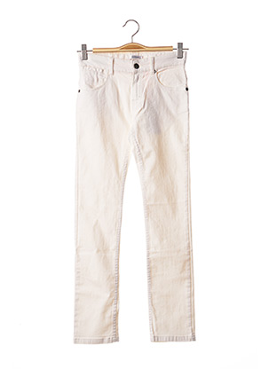 Jeans coupe slim blanc MARESE pour fille
