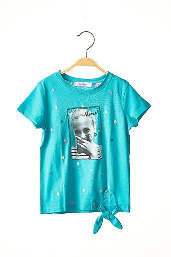 T-shirt manches courtes bleu MARESE pour fille