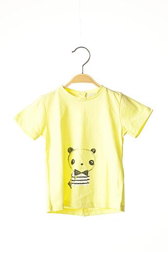 T-shirt manches courtes jaune MARESE pour garçon