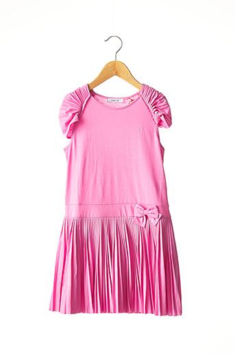 Robe mi-longue rose MARESE pour fille