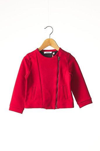 Veste casual rouge MARESE pour fille