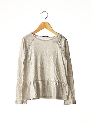 T-shirt manches longues beige MARESE pour fille