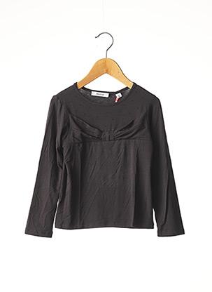 T-shirt manches longues gris MARESE pour fille