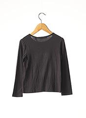 T-shirt manches longues gris MARESE pour fille seconde vue