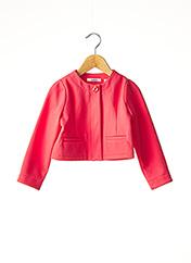 Veste chic / Blazer rouge MARESE pour fille seconde vue