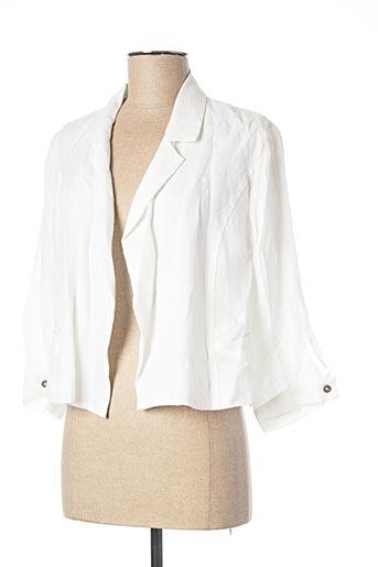 Veste casual blanc DRESS ADDICT pour femme