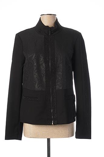 Veste casual noir BOCA BOKA pour femme