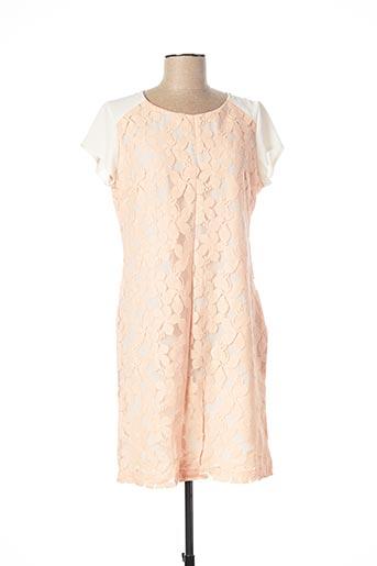 Robe courte rose ANDAMIO pour femme