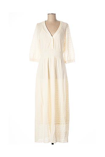 Robe longue beige ALDOMARTINS pour femme