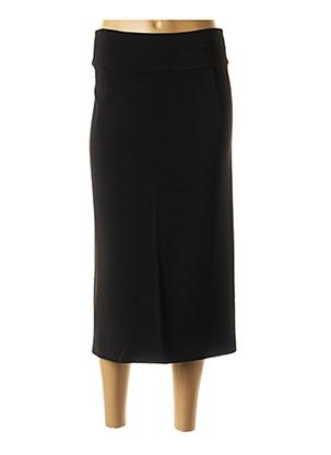 Jupe mi-longue noir MARELLA pour femme