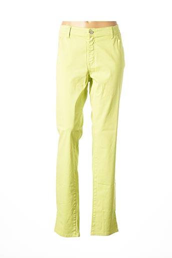 Pantalon casual vert COWEST pour femme