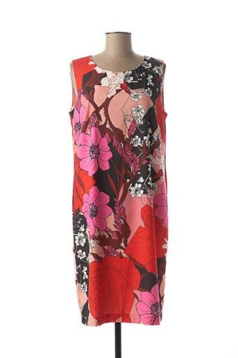 Robe mi-longue rose TELMAIL pour femme