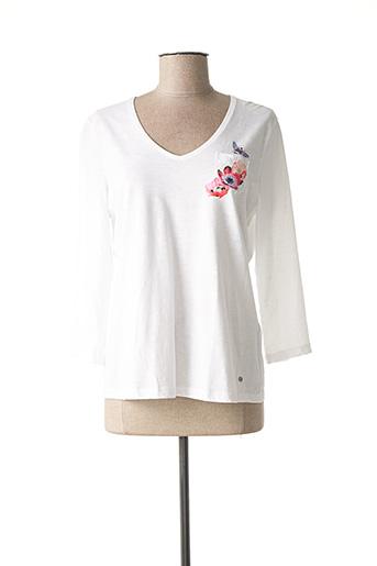 T-shirt manches longues blanc GERRY WEBER pour femme