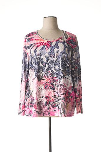 T-shirt manches longues rose GERRY WEBER pour femme