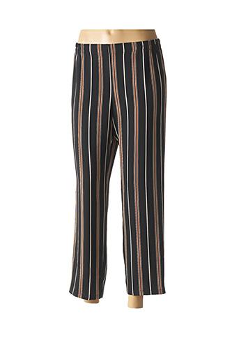 Pantalon 7/8 noir TELMAIL pour femme