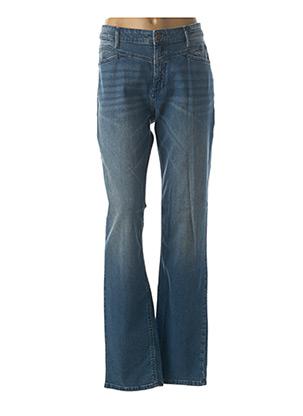 Jeans coupe droite bleu PADDOCK'S pour homme