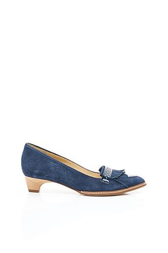 Escarpins bleu FRANCE MODE pour femme