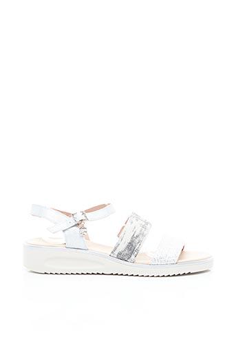 Sandales/Nu pieds gris JOSE SAENZ pour femme