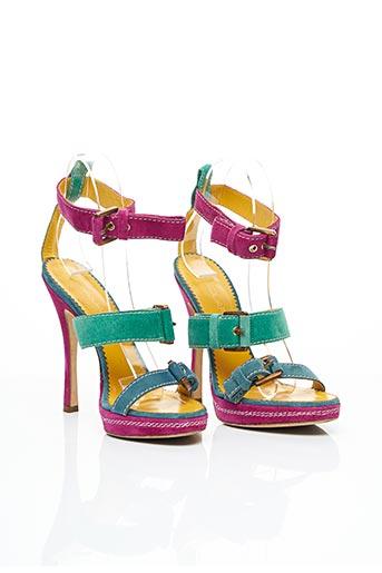 Sandales/Nu pieds violet DSQUARED pour femme