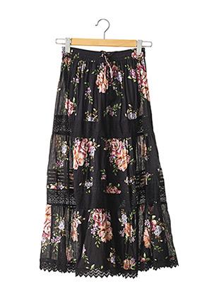 Jupe longue noir DERHY pour femme