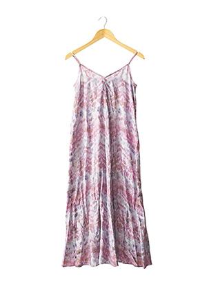 Robe longue violet SUD EXPRESS pour femme