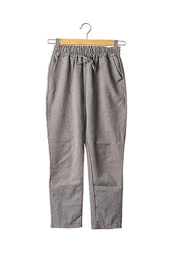 Pantalon casual gris SANS MARQUE pour femme
