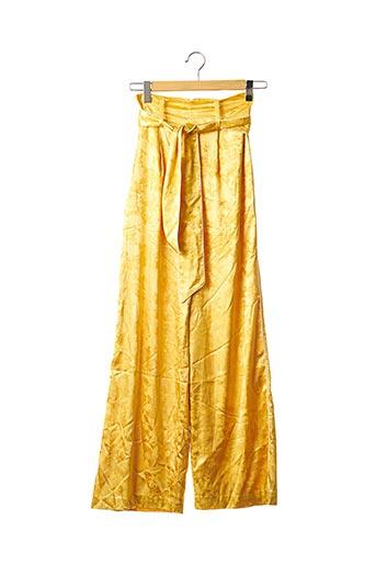 Pantalon casual jaune CAMILA COELHO pour femme