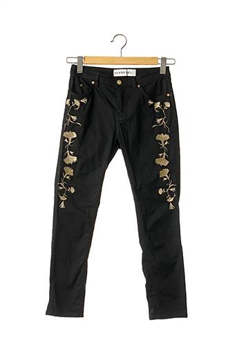 Pantalon casual noir IVYREVEL pour femme