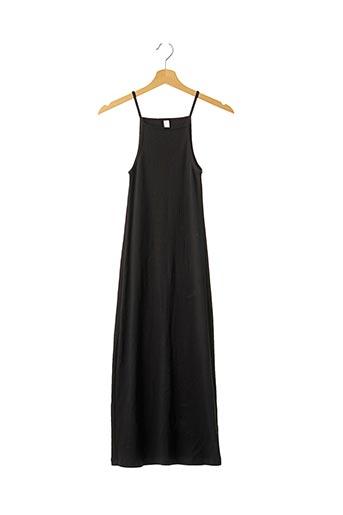 Robe longue noir AMERICAN APPAREL pour femme
