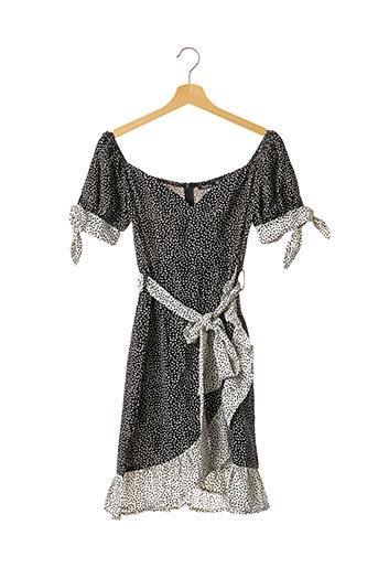 Robe mi-longue noir BOOHOO pour femme