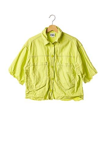 Veste casual vert BIMBA Y LOLA pour femme